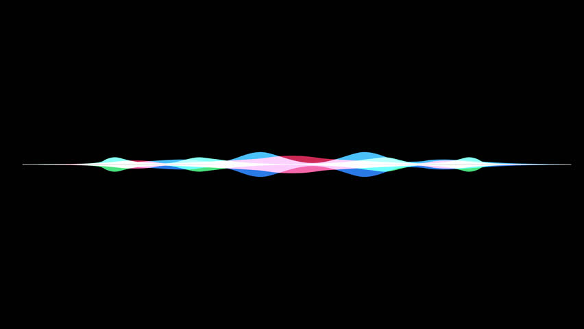 Colorful waveform, imagination of voice record, artificial intelligence | Shutterstock HD Video #31512205