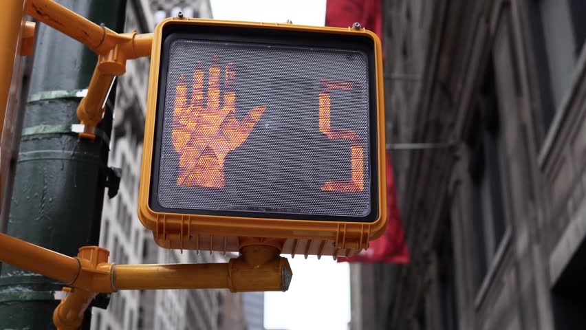 NEW YORK, NY, NEW YORK CITY Streets. Walking in New York.