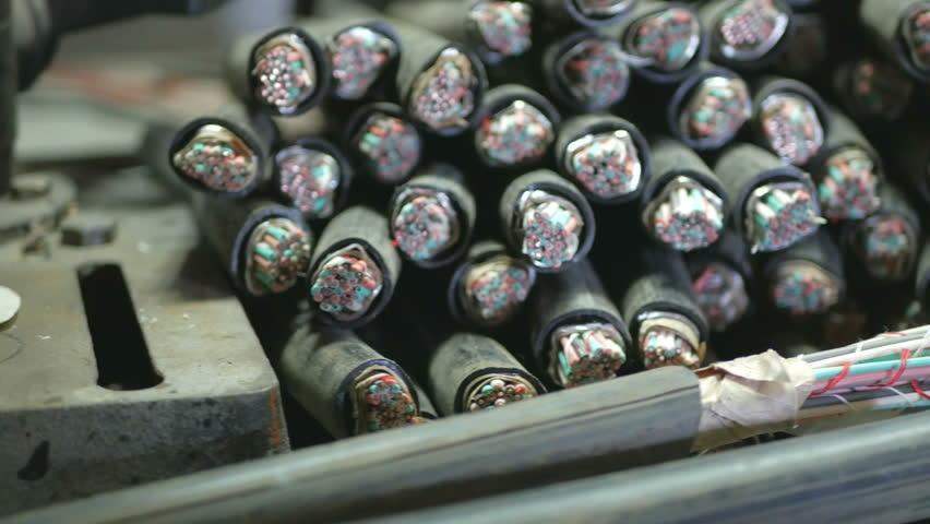 Scrap, copper cable