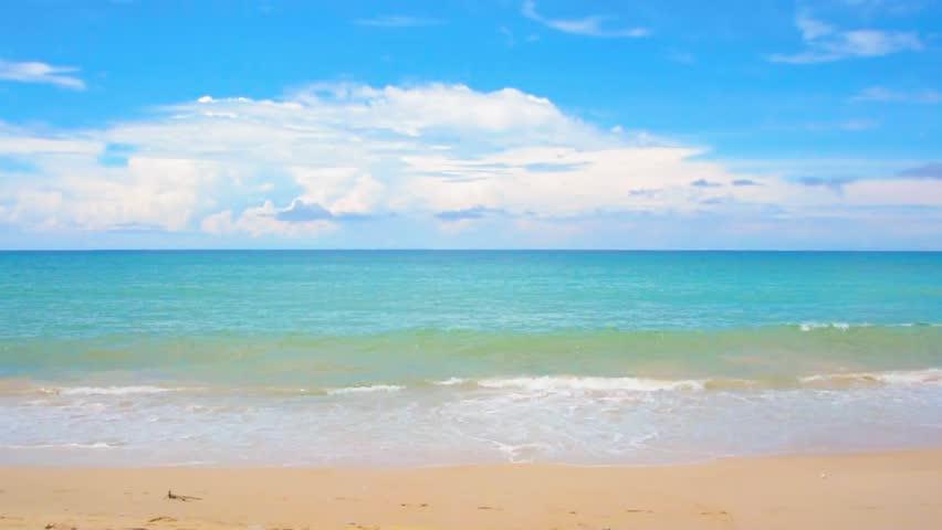 Ocean seascape scenic off kamala beach, phuket, thailand | Shutterstock HD Video #31576447