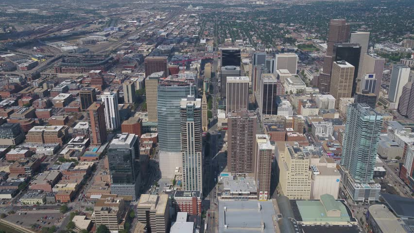 Aerial Colorado Denver July 2017 Sunny Day 4K Inspire 2 | Shutterstock HD Video #31632799