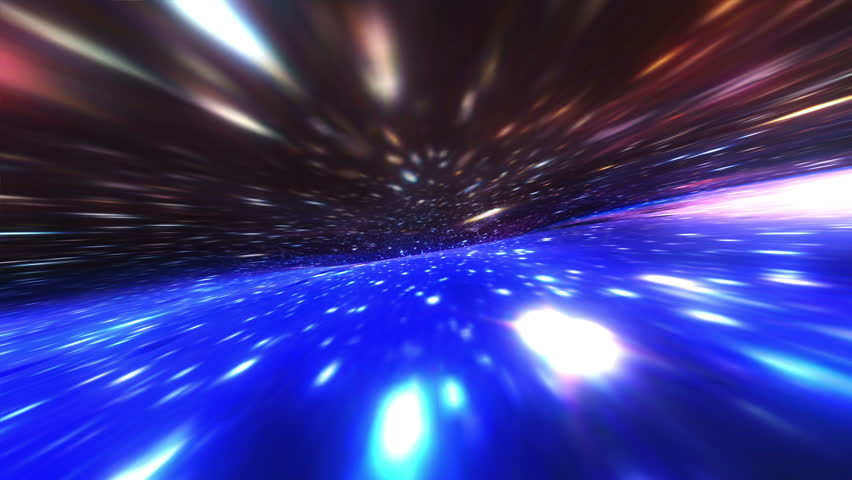 Futuristic galaxy tunnel seamless animated for science films, music videos, broadcast, relaxation, meditation, audiovisual performance, light show, night clubs. | Shutterstock HD Video #31696225