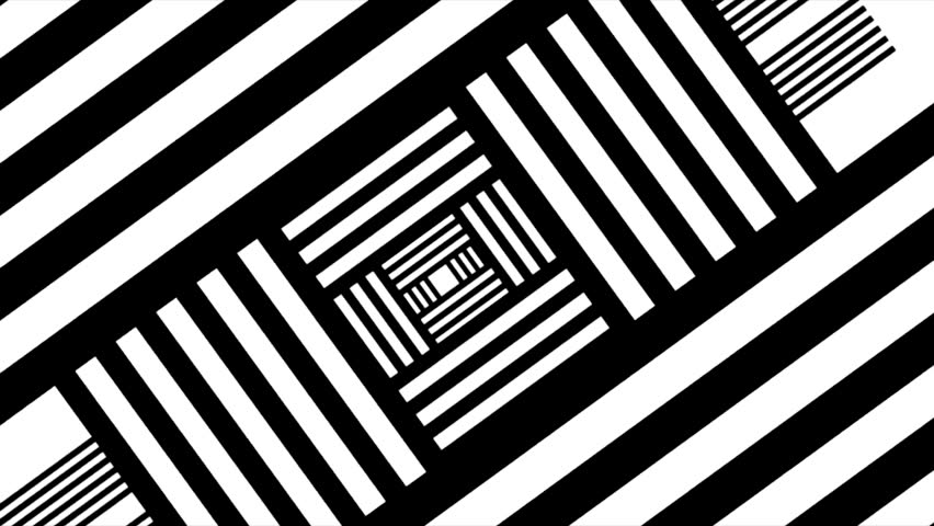 Abstract black and white stripe background with shade. Abstract black and white twirl background, Vortex. blck and white swirl or cubes #31814701