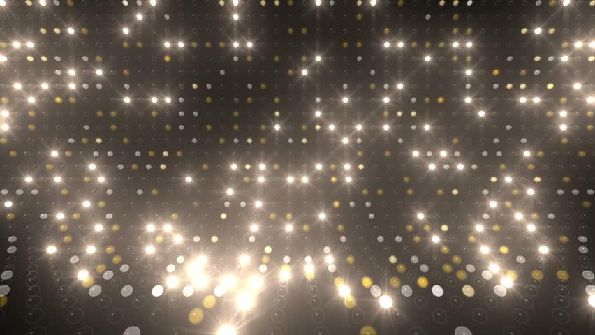 LED Light wall.   Shutterstock HD Video #3184522
