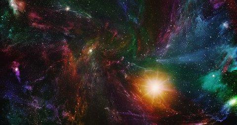 The universe, space, stars, nebulae, planets. Sci fi.