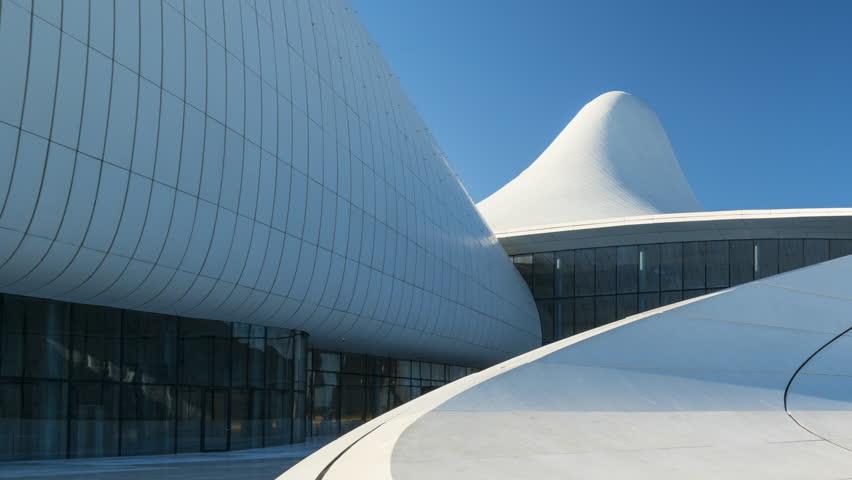 Zaha Hadid Architect Building, Heydar Aliyev Center, Baku City, Azerbaijan, Middle East