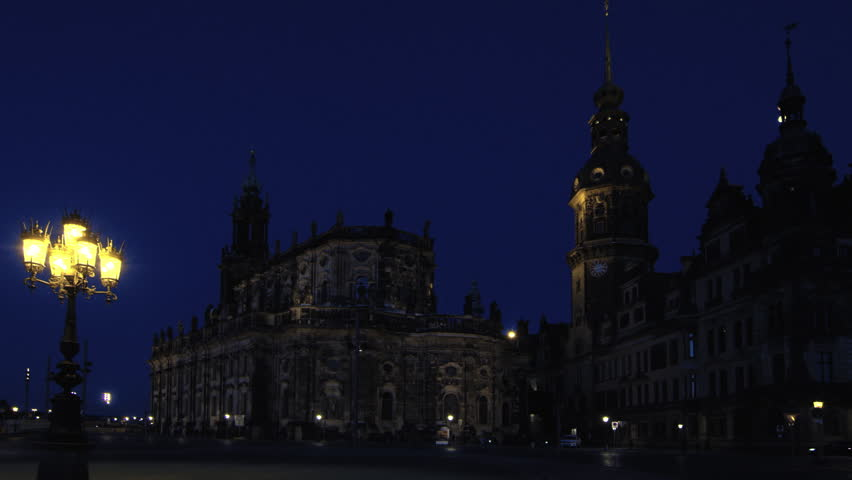 The Catholic Church of the Royal Court of Saxony (Hofkirche) in Dresden, Germany, Jul 2017   Shutterstock HD Video #31898671