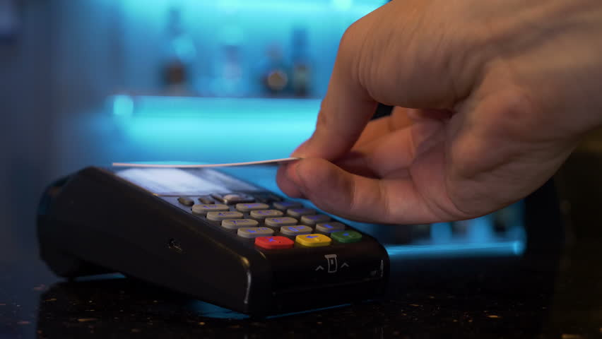 Paying using contactless credit card | Shutterstock HD Video #31956019