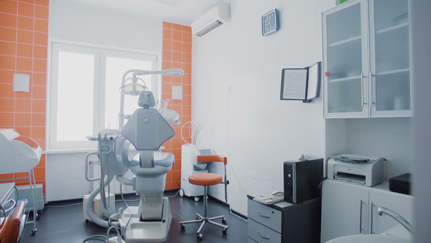 Dental clinic interior design with chair and tools | Shutterstock HD Video #31957873