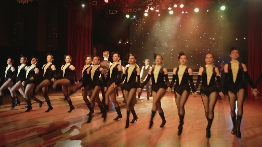 Part of the cabaret dance show   Shutterstock HD Video #31988983