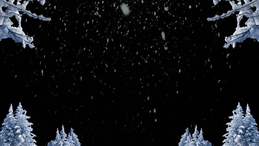 Winter, snow backdrop with space for text. Christmas or New Years background. | Shutterstock HD Video #32039245