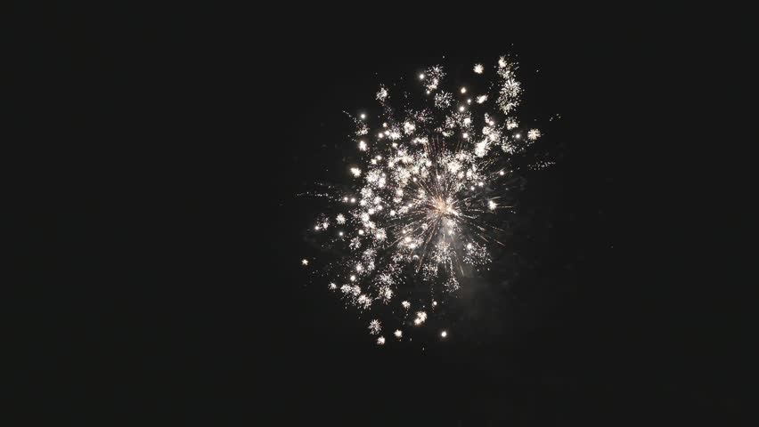Colorful fireworks at holiday night | Shutterstock HD Video #32166832