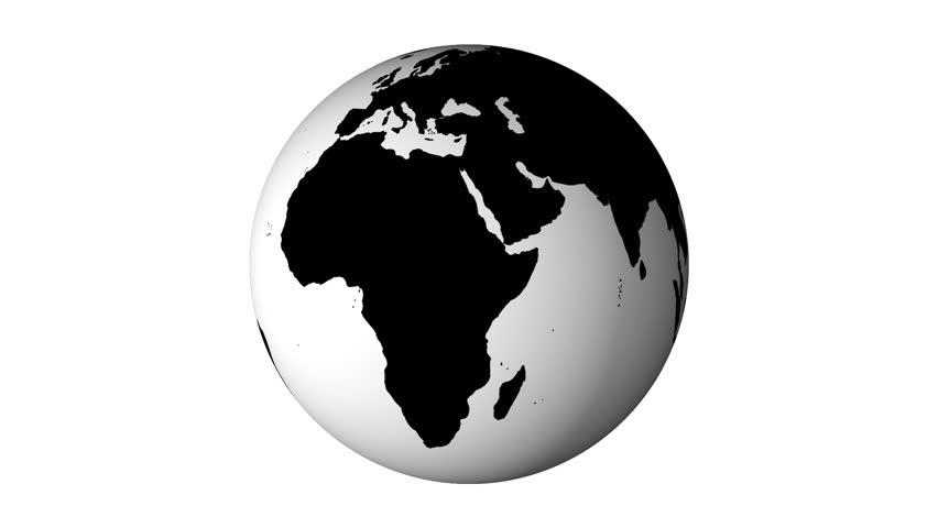 картинка земли черно-белое ошпарьте кипятком
