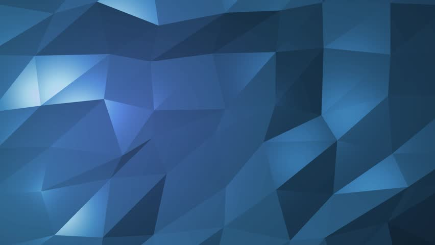 Dark blue creative shining geometric triangular background animation in Origami style with gradient as a pattern for your business design.   Shutterstock HD Video #32255098