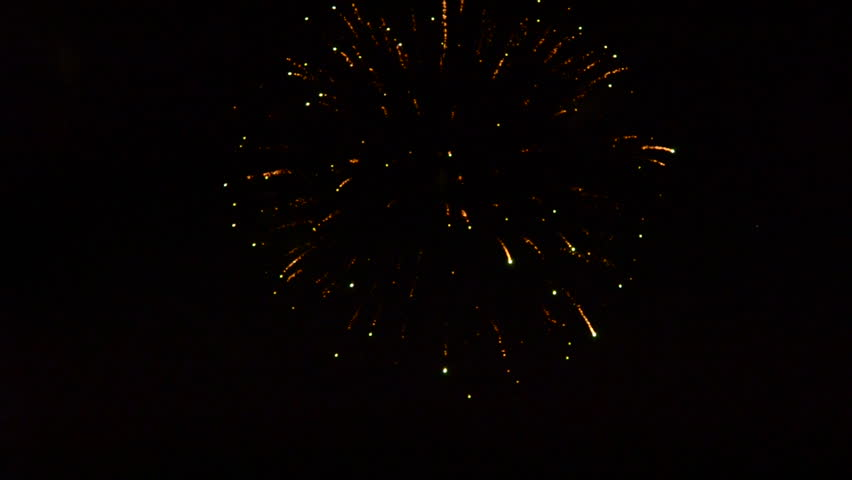 Fireworks at balloon festival, Balloon Fiesta, Albuquerque, NM