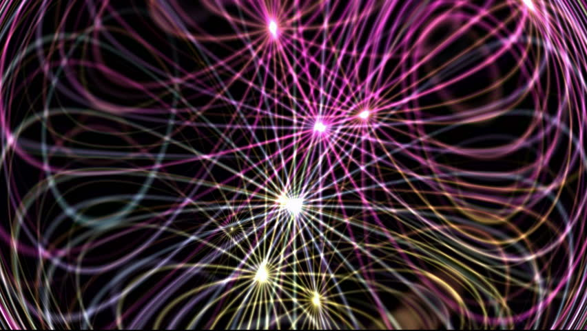 Flowing dynamic abstract lines,tech energy transfer,stars,festival background,Hollywood.Crystal,structure,geometry,mesh Royalty-Free Stock Footage #3231070