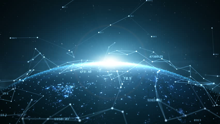 Global Network Connected Royalty-Free Stock Footage #32413318