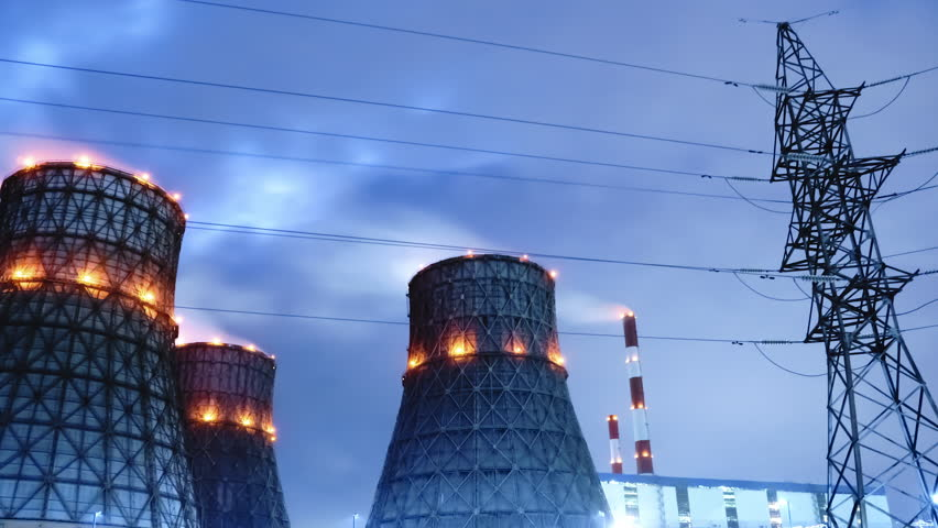 Cooling Tower in Time Lapse | Shutterstock HD Video #32462209