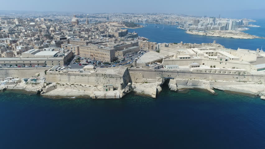 Malta Drone Valleta Drone City