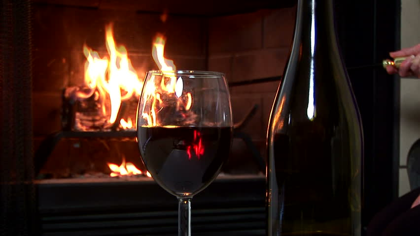 A Glass Of Red Wine Stock Footage Video 100 Royalty Free 324802 Shutterstock