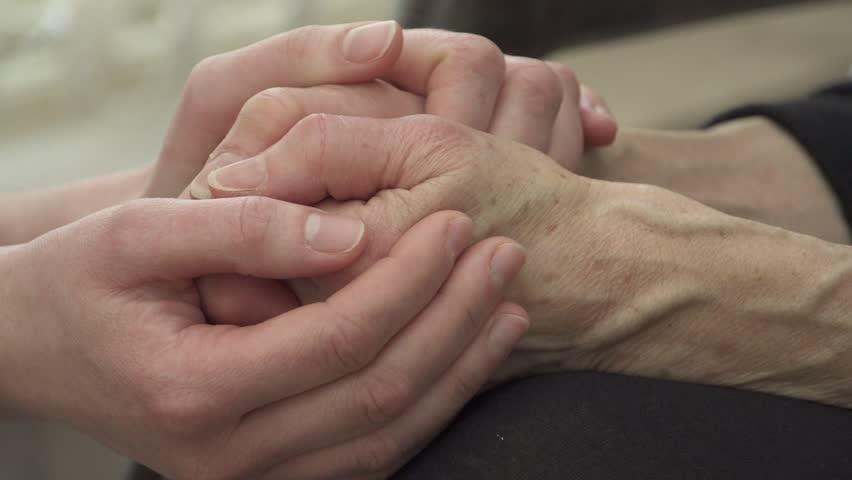 Comforting hands | Shutterstock HD Video #3251806
