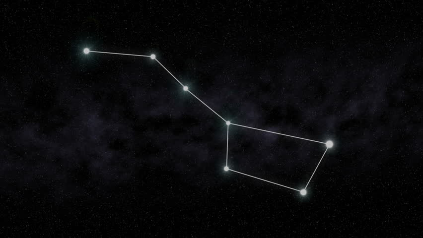 The Big Dipper constellation is outlined.