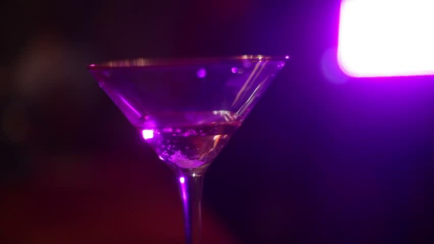 Roofie, or ecstasy drug in drink