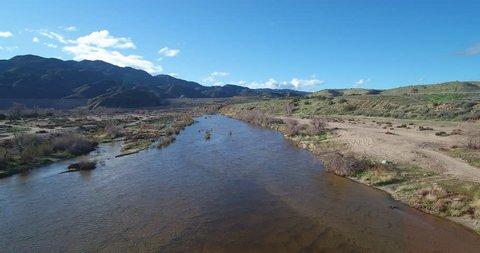 Mojave River Aerial