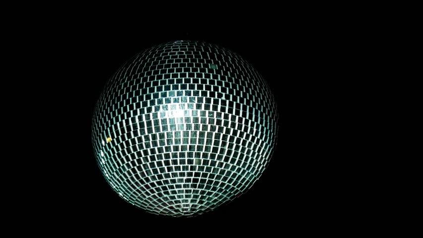 Disco mirror ball center, glitter   Shutterstock HD Video #32544193