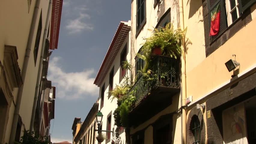 elegant balcony part 1 Funchal ( Madeira ) September 2012