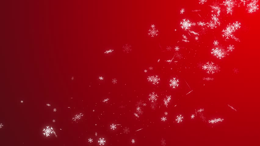 Sparkling christmas stars background red. | Shutterstock HD Video #32592763