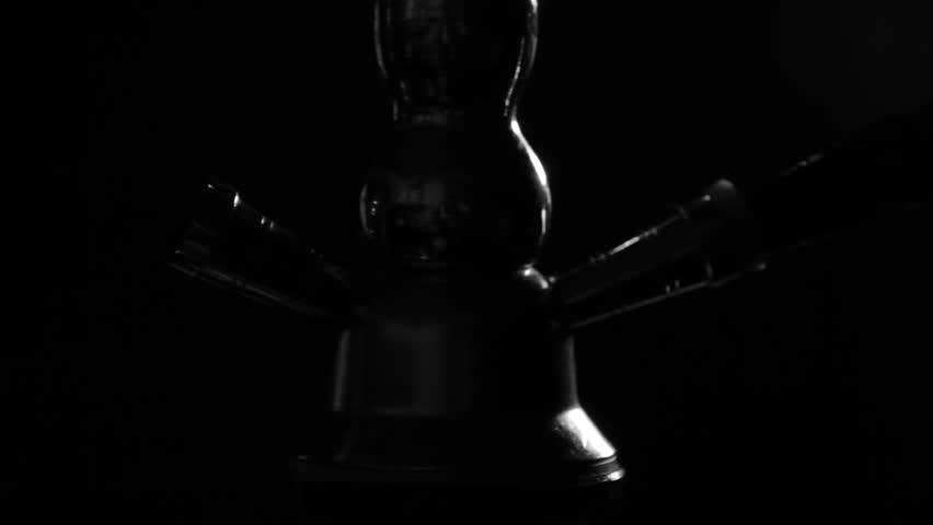 Smoking Hookah Close Up, Vaporized Smoke Blows   Shutterstock HD Video #32599843