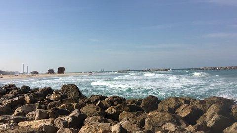 Beautiful beach in Israel
