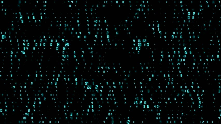 The pulsating numbers move horizontally. business subjects. cinematic background. seamless loop. | Shutterstock HD Video #32706172