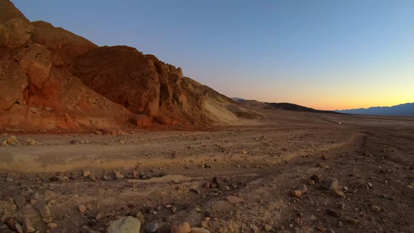 The Golden Canyon at Death Valley National Park | Shutterstock HD Video #32715667
