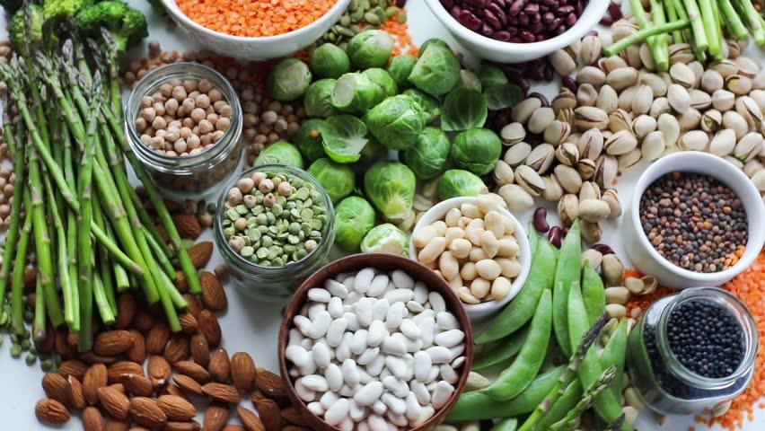 Vegan protein sources | Shutterstock HD Video #32734858