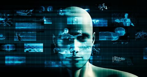 Machine Learning Artificial Intelligence AI Development Concept