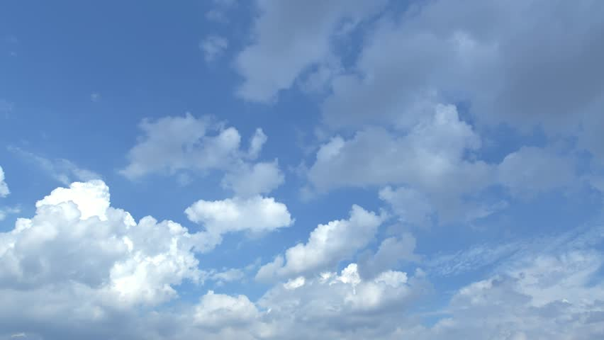 Time lapse of dramatic clouds above the sky, look up view, wide angle shot. #32769625