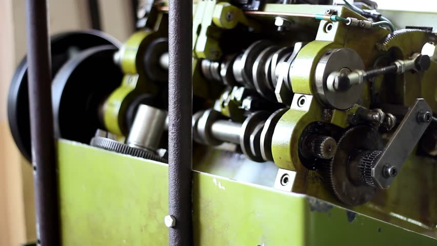 Golden factory. Automated machine makes golden necklace, expensive machine to make golden necklace which makes necklace without human usage. Technology in Armenia, Yerevan. UHD. | Shutterstock HD Video #32832766