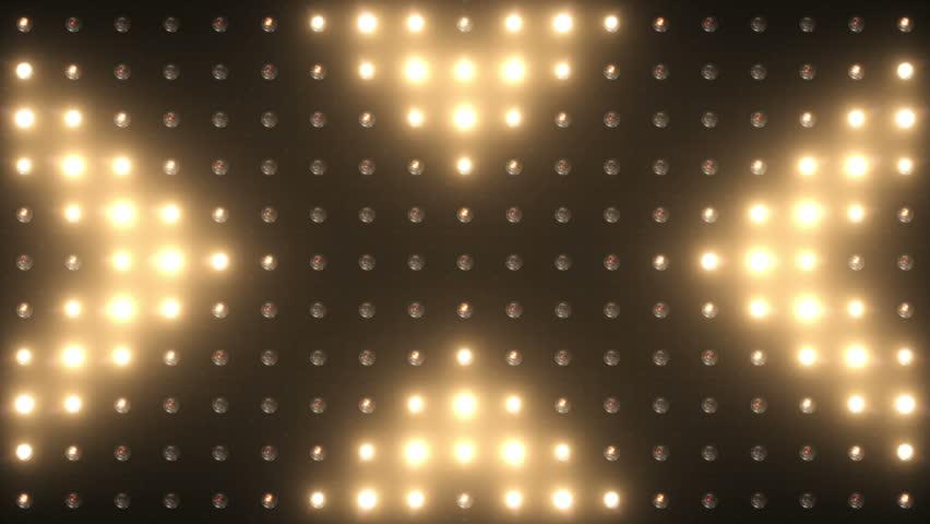 VJ Lights Flashing Spotlight Wall Stage Led Blinder Blinking  Club Concert Disco Matrix Beam Bulb Fashion Floodlight Halogen Headlamp Lamp Night  Party pub Flood lights Vj loop | Shutterstock HD Video #32869963