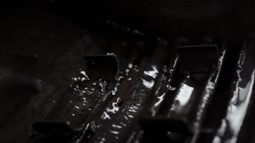 Metal cooling in slow motion   Shutterstock HD Video #32882293