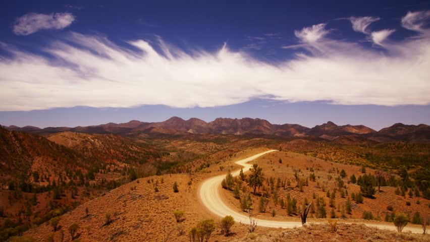 Flinders Ranges National Park, South Australia, time-lapse