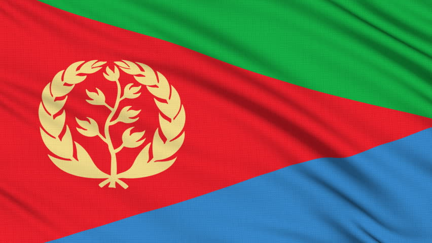 Download Eritrea Flag, with Real Structure Stock Footage Video (100% Royalty-free) 330319 | Shutterstock