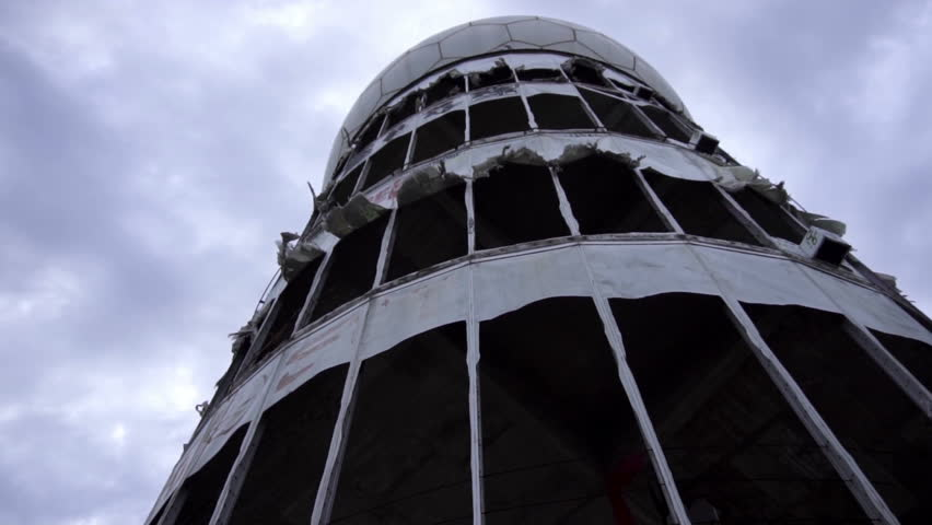 Teufelberg Tower, Berlin - Abandoned Spying Center During Cold War Slow Motion Footage