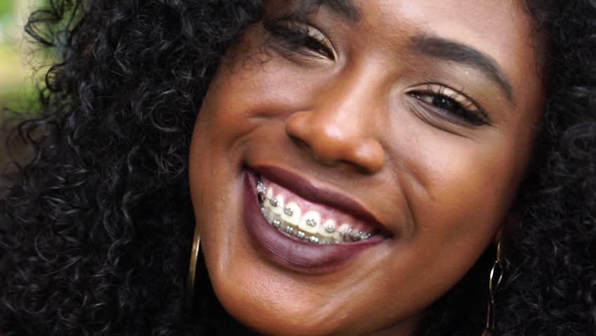 Beautiful Smiling African Woman