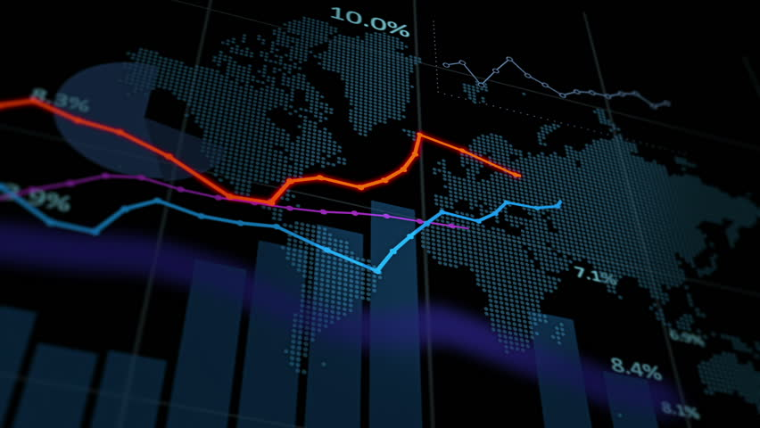 Animation of financial stock data, seamless loop | Shutterstock HD Video #33069079
