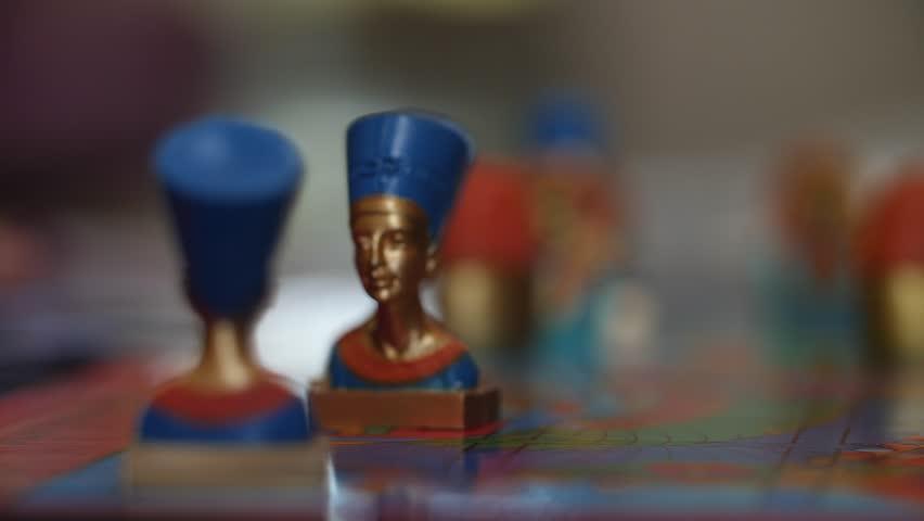 Tabletop games Little kids children play board game | Shutterstock HD Video #33069598