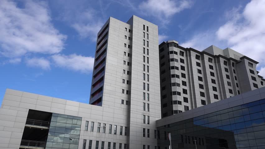 Generic Health Care Modern Hospital Exterior Building