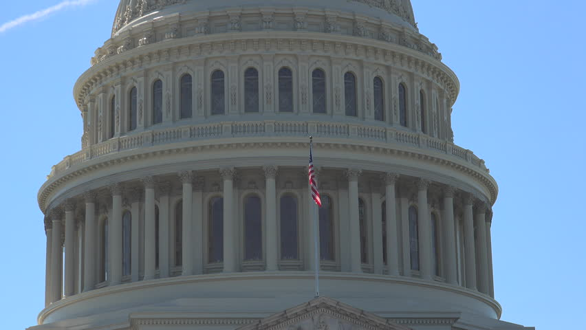 WASHINGTON, DC, USA - Circa 2017: The U S Capitol, often called the Capitol Building, is the home of the U S Congress, and the seat of the legislative branch of the U.S. federal government.