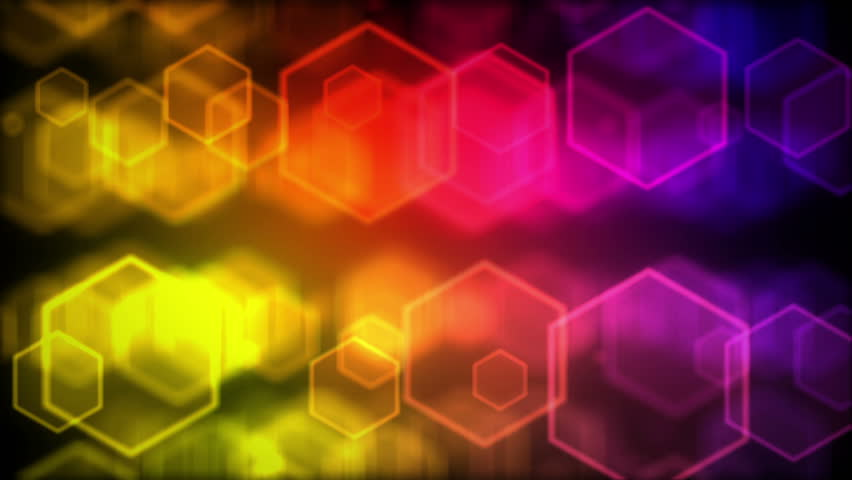 High quality colourful background animation